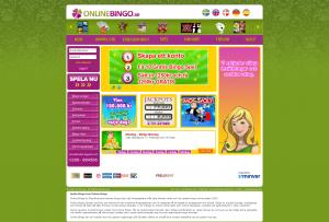 Online Bingo - Registrera dig gratis och få 50 kr att spela för!