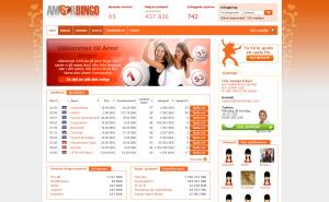 Amorbingo - Spela Bingo Online - Gratis Pengar