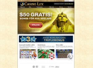 Onlinekasino På Svenska - Casino Lux
