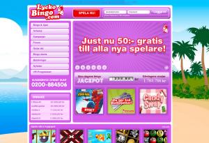 50 Kr Till Alla Nya Bingo-Spelare!