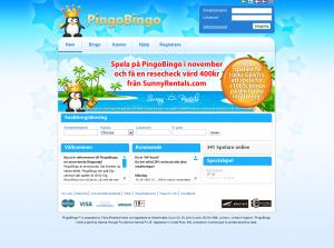 Spela Bingo För Gratis Pengar Hos PingoBingo
