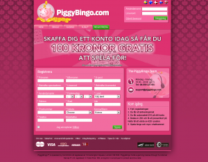 Spela Gratis Bingo Hos PiggyBingo (Vinn Riktiga Pengar)