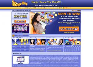 BingoDay - Engelsk Bingosida Med Stor Bonus