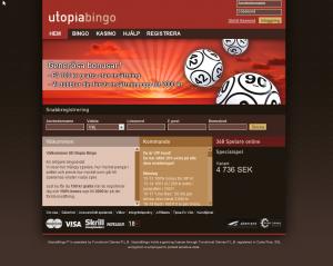 Superbonus hos Utopiabingo + gratis pengar att spela för!