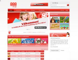 888Bingo ger dig 50 kr gratis utan att någon insättnings behövs