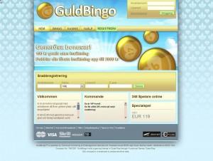 100 kr gratis till alla nya medlemmar hos Guldbingo!