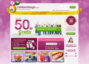 50 kr helt gratis att spela bingo på nätet för!