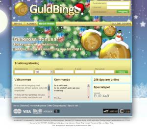 Guldbingo designar om sin webbsida och ger den ett trevligt jultema!