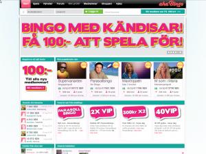 En populär bingosida ger dig 100 kr gratis
