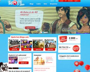 Gör såhär och Bingo.com ger dig 100% bonus + 100 freespins i kasinot!