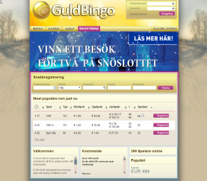 Nyheter hos Guldbingo under 2014!