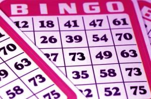 En billig bingobricka
