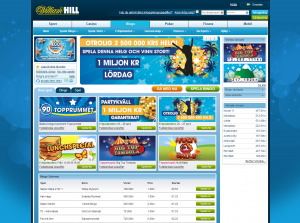 William Hill bingo har miljonvinster