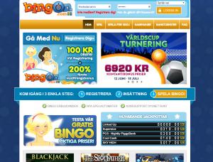 Spela bingo eller kasino för 100 kr helt gratis!