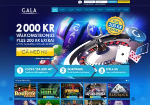 Spela bingo hos Gala.se och få 250 kr i bonus!