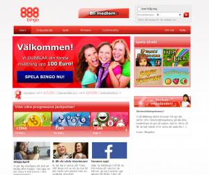 Progressiva jackpottar hos 888bingo