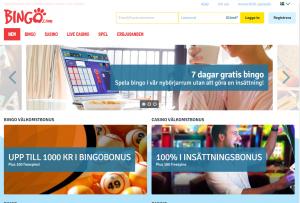 Spela gratis bingo i 7 dagar! (utan krav på insättning)