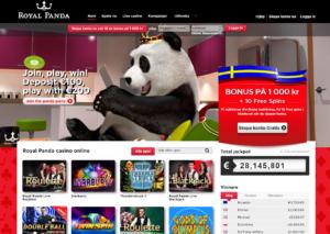 Freespins hos Royal Panda utan insättning!